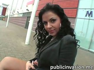 Babe Latina Outdoor Pornstar