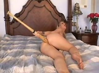 Baseball bat anal _: anal blondes toys