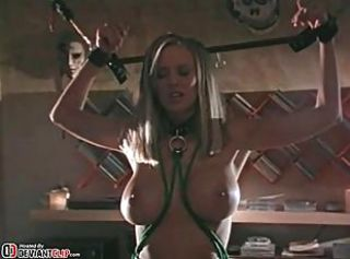 Bigtits Bdsm slave pain and insertion