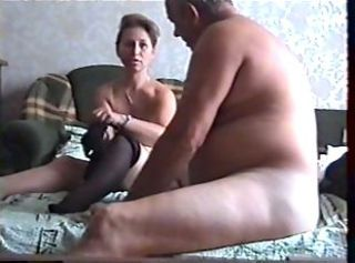 HiddenCam  Old and Young Stockings Voyeur