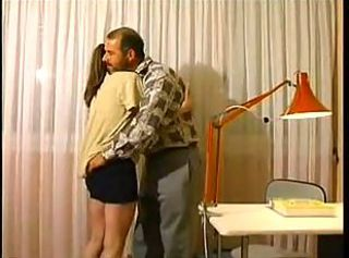 Amateur Daddy Old and Young Teen