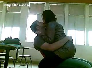 Amateur Arab Kissing Student
