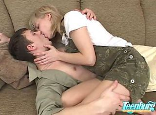 Amateur Cute Kissing Sister Teen