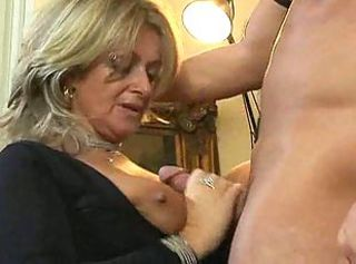 Big Tits Handjob Mature Stockings