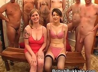 Amateur Bukkake Facial Gangbang Party Teen
