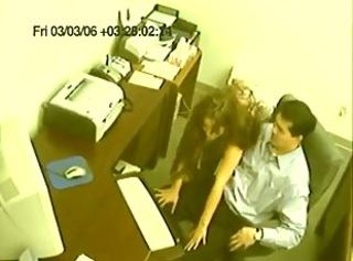 HiddenCam Office Teen Voyeur