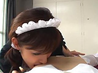 Asian Maid Teen Uniform
