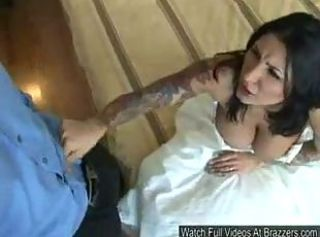 Big Tits Bride Hardcore  Pornstar Tattoo