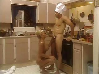 Big Tits Blonde Blowjob Kitchen  Vintage