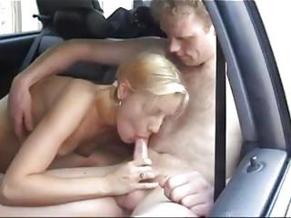 Amateur Blonde Blowjob Car Teen