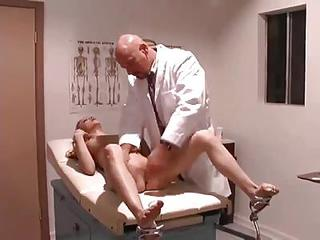 Doctor Nails His Young Shaved Patient