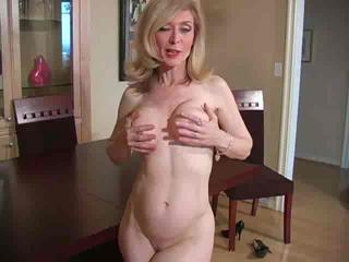 Mature Nina Hartley in pantyhose as never seen part 3 (TheNylonChan...