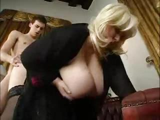 Big Tits Blonde Clothed Doggystyle  Natural