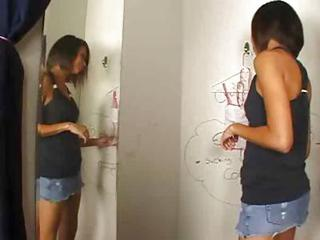 Mia Lina Gloryhole Dick Sucker