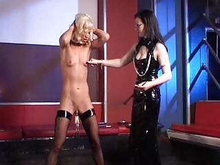 German Mistress And Tiny Slave Girl 3