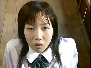 Asian Bukkake Cute Japanese School Teen Uniform