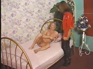 Babe European Fetish German Latex Vintage