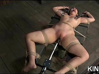 Sarah Jane Ceylon roped & toyed