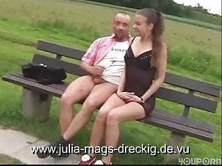 European German Outdoor Public Teen