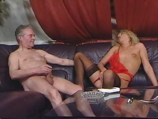 Lingerie Masturbating  Old and Young Small Tits Stockings