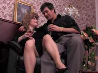 Sex with lusty older pantyhose girl