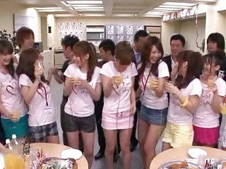 Asian Funny Japanese Party Teen
