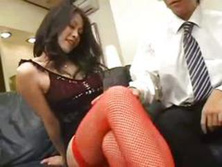 Asian Babe Japanese Stockings