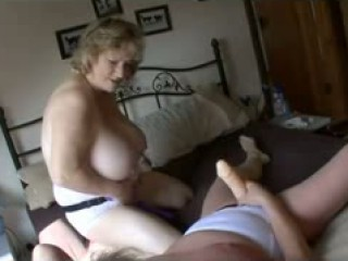 Lingerie Grannies Strapon Fun Again