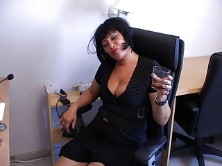 Drunk  Office Secretary