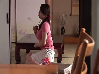 Japanese Anal mom and son with