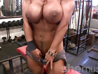 Big Tits  Muscled Sport