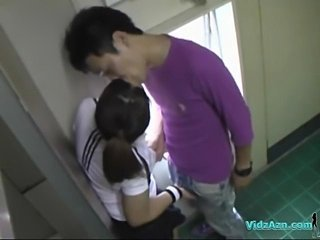 Asian Main In Training Dress Sucking Blarney Licked And Fingered Fucked From...