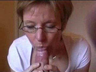 Amateur Blowjob Glasses Mature Pov Wife
