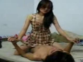 interesting indonesian Teen having sex with BF