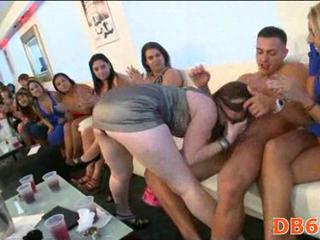 Hot party gets wild with horny girls