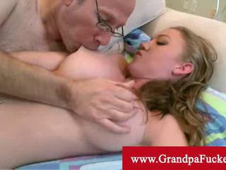Madison Scott penetrated by old man cock Sex Tubes