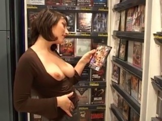 Babe European French Masturbating Public