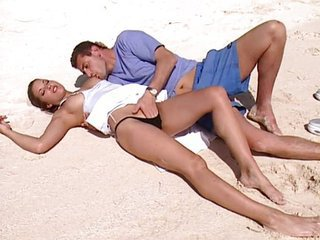 Amazing Beach Legs  Outdoor Panty Pornstar