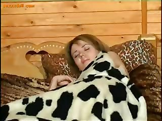 Teen Daughter Sleeping