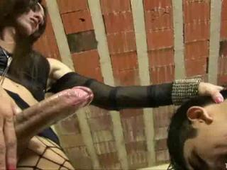 Tranny Nails The Tied Up Dude Sex Tubes