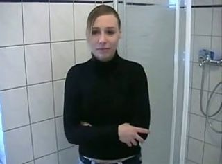 Amateur European German Showers Teen