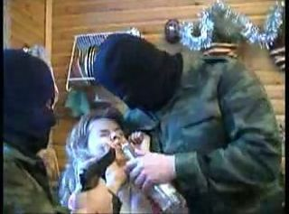 Army Drunk Fetish Forced Hardcore Teen Threesome