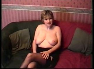 Amateur Big Tits British European Homemade Mature Natural Stockings