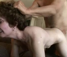 Hot Amateur Gran Gets Their way Shaven Haven Fucked !