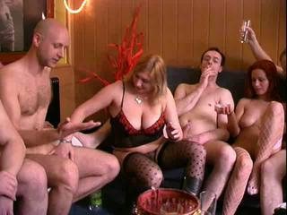 Amateur Drunk Groupsex  Orgy Swingers Wife