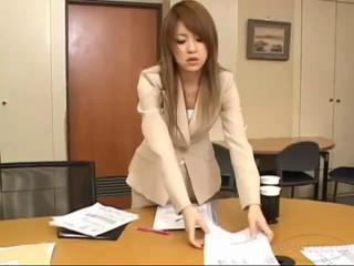 Office Lady Getting Her Nipples Sucked Pussy..