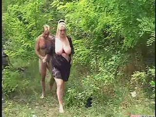 Amateur Mature Outdoor SaggyTits