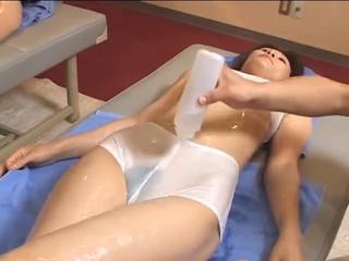 Asian Babe Japanese Oiled Panty