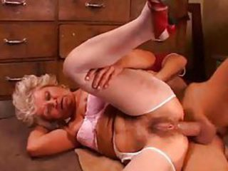 Granny with debauched hairy box hardcore anal tubes