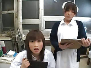 Asian Doctor Japanese Nurse Teen Uniform
